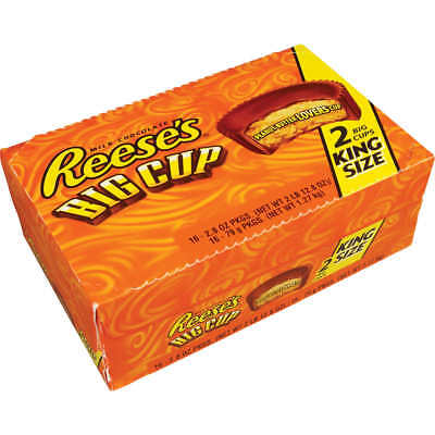 r Cups, Big Cups, 16ct (2 Cups Per Pack = 32 Cups) (Peanut Butter Cups Halloween)