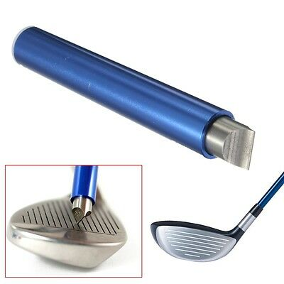 Golf Wedge Iron Club Groove Sharpener & Cleaner Cleaning Tool U V Square US ship