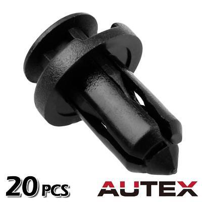 20x Bumper Cover Trim Push-Type Rivet Retainer for Nissan 240SX 350Z 370Z Cube
