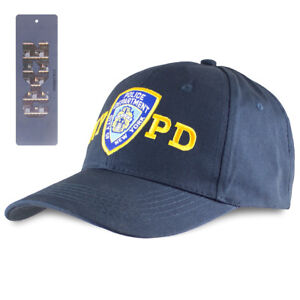 Officially Licensed NYPD New York Police Adjustable Baseball Cap Hat With Emblem