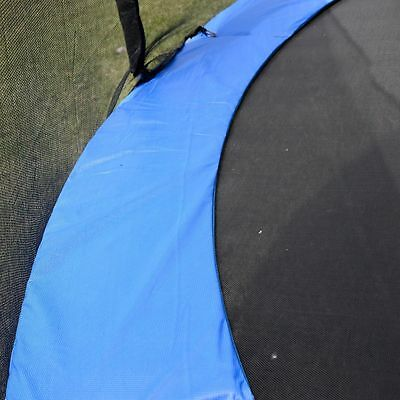 Safety Pad Spring Round Frame Pad Cover Replacement for 12FT Trampoline Blue