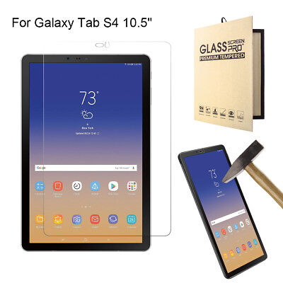 Used, For Samsung Galaxy Tab S4 10.5 Tablet HD Clear Tempered Glass Screen Protector  for sale  Shipping to Canada