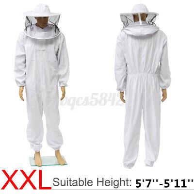 2xl Beekeeper Protective Bee Keeping Suit Jacket Veil Hat Body Equipment Hood Us