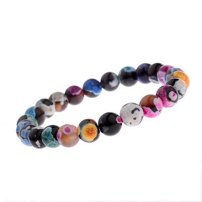 Charm 8mm Natural Stone Yoga Energy Reiki Bracelets Fashion Women Men's Jewelry