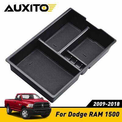 For Dodge RAM 1500 2009-2018 Accessories BOX Center Console Organizer Holder ABS