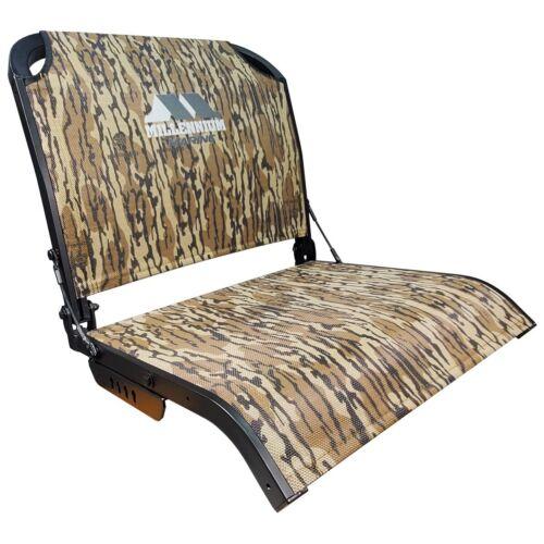 NEW!! MILLENNIUM MARINE BOAT SEATS B100-BLC MOSSY OAK BOTTOMLAND CAMO