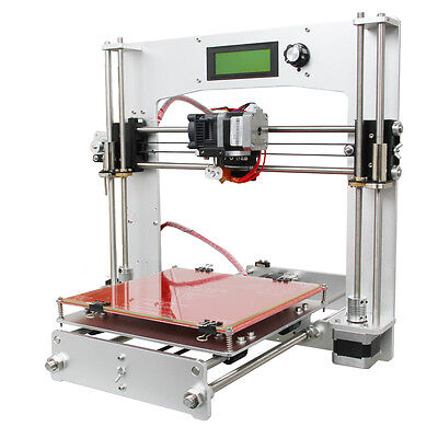 Shipped from US 3D Printer  Full Aluminum frame Prusa of I3 with MK8 extruder