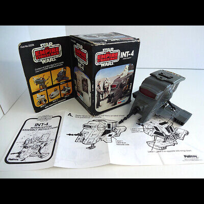 Vintage Star Wars ESB 1982 Boxed Palitoy INT-4 with original instruction sheet