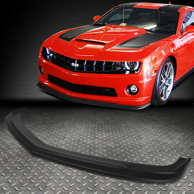 - FOR 2010-2013 CHEVY CAMARO ZL1 STYLE ABS FRONT BUMPER LIP SPOILER WING BODY KIT