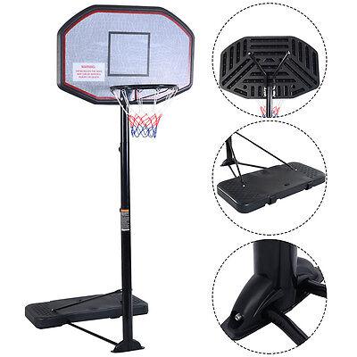 Goplus Basketballständer 305cm Basketballkorb Basketballnetz höhenverstellbar