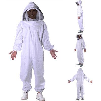 Beekeeping Veil Bee Keeping Full Body Suit Hat Smock Protective Equipment Xxxl