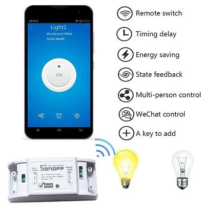 Smart Switch Remote Controlled by Mobile APP Switch Wifi Power Switch On-off