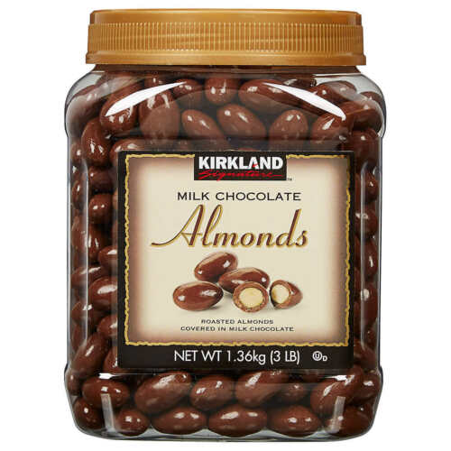 Kirkland Signature Almonds, Milk Chocolate, 3 lb