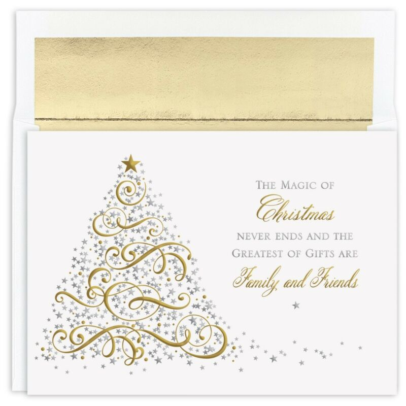 MAGIC OF CHRISTMAS 16 pack Boxed Christmas Cards 927300 2019