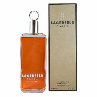 KARL LAGERFELD CLASSIC FOR MEN 150ML EAU DE TOILETTE SPRAY BRAND NEW & SEALED