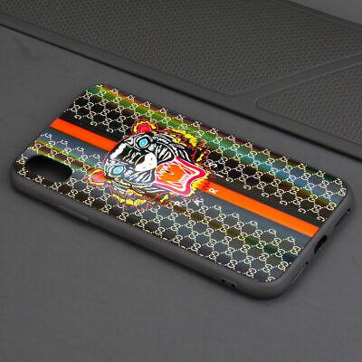 Cover Gucci7 Tiger New iPhone X XS XS Max Custom Fashion Print Case Paris