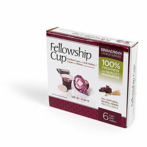 Communion Fellowship Cup 6 (Juice and Wafer)