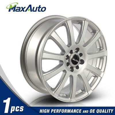 """1 Pcs 17"""" 17X7 Wheels 4x100/4x108 Rims 73.1 Hub +40 mm Silver Finish New"""
