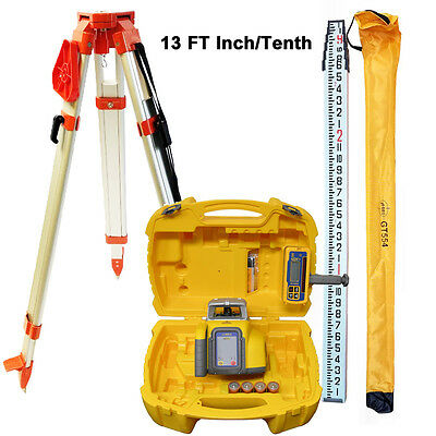 Spectra Precision Ll300n Laser Level With Tripod 13 Ft It Rod Hl450