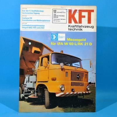 DDR KfT Kraftfahrzeugtechnik 12 1975 Opel Kadett Sechstagefahrt IFA W 50 L/RK 52