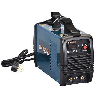 S160-am 160 Amp Stick Arc Dc Inverter Welder 115v 230v Dual Voltage Welding
