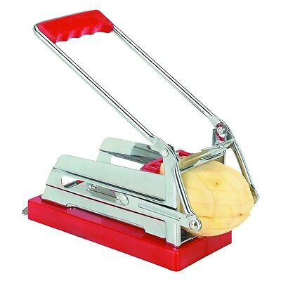 Stainless Steel Blade French Fry Maker Cutter Potato Vegetable Slicer Chopper