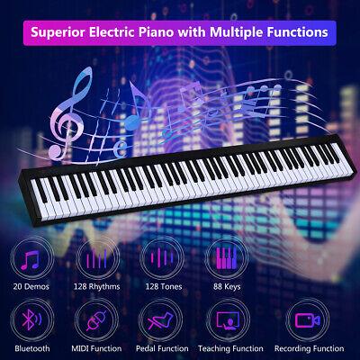 88 key digital piano portable midi keyboard