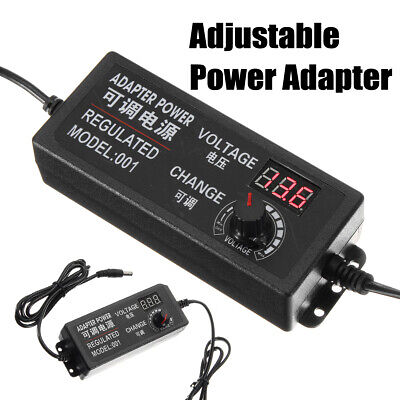 Speed Control Volt Acdc 9-24v 3a 72w Adjustable Power Adapter Supply 5060hz Us
