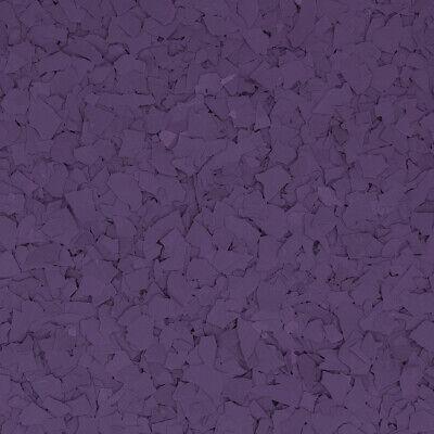 Original Color Chips - Grape Purple Garage Floor Epoxy Flakes 14 Per Pound