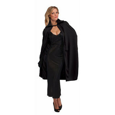 "Adult's Theatrical Vampire Witch Opera Cape 45"" Black"