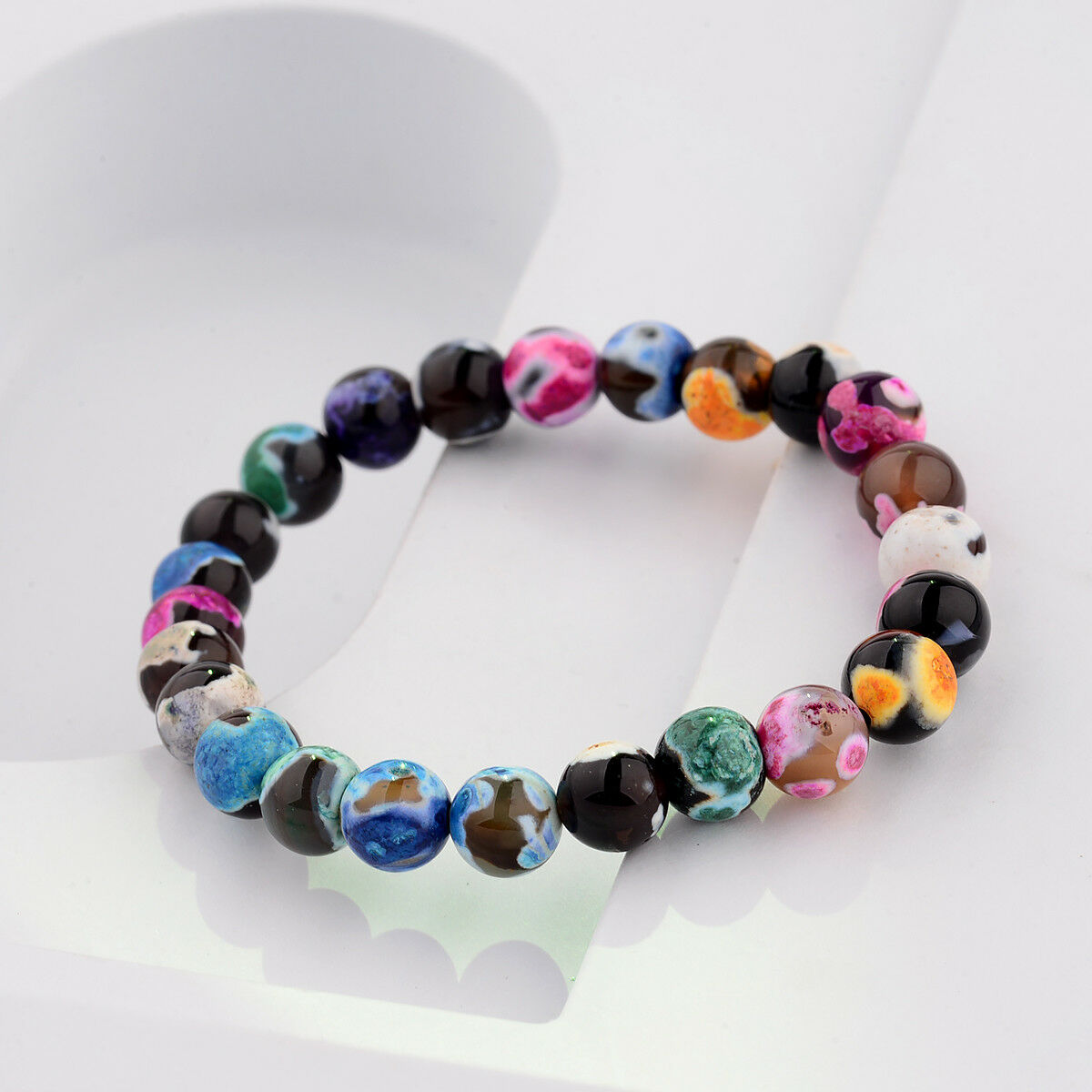 Colourful Stone beads style 1