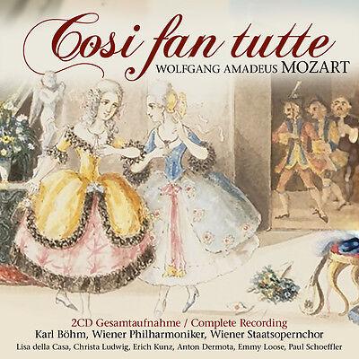 CD Cosi Fan Tutte von Mozart  mit Wiener Philharmonikern 2CDs Gesamtaufnahme