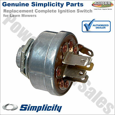 1686734SM 1716061 Simplicity Snapper Ignition Switch Key for Lawn Mowers & More