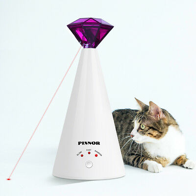 Interactive Led Training Funny Cat Play Toy Laser Adjustable Training Supplies