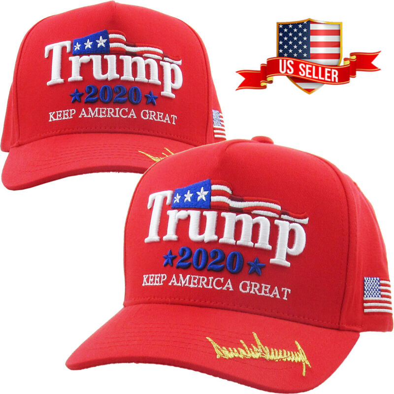 Trump 2020 Red Hat Cap Keep America Great Make America Great Again KAG MAGA