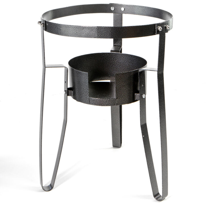 Single Portable Stove Propane Gas Burner Fryer Stand Outdoor Cook Camping BBQ