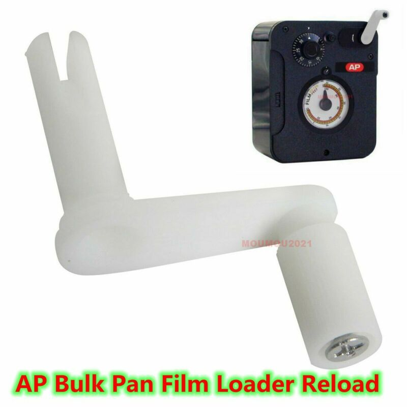 Kaiser Waston LPL AP Bulk Pan Film Loader Reload 35mm Film Winding Crank Handle