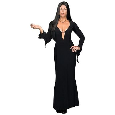 Morticia Addams Costume Adult Plus Size Vampire Halloween Fancy - Morticia Addams Dress Costume