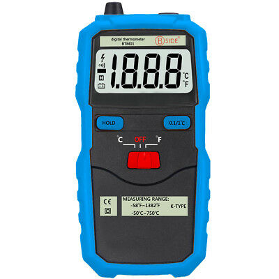 Thermocouple Thermometers High Precision Temperature Tester Hand Tools Probe Lcd