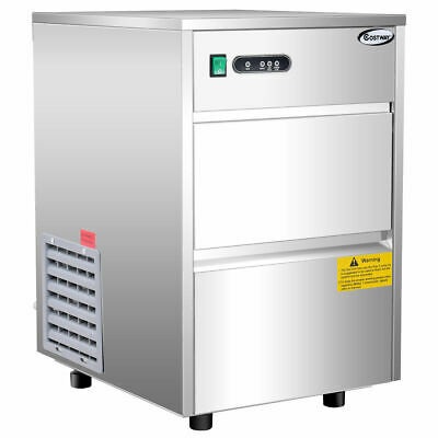 Automatic Ice Maker Stainless Steel 58lbs24h Freestanding Commercial Home Use