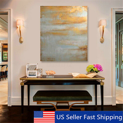 Framed Modern Abstract Canvas Print Art Oil Painting Wall Picture Home Decor Us