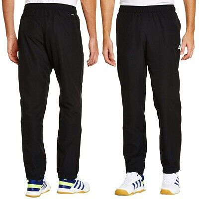 Adidas Essentials Training Pants Stanford Cuffed Woven Bottoms - Black  Mens
