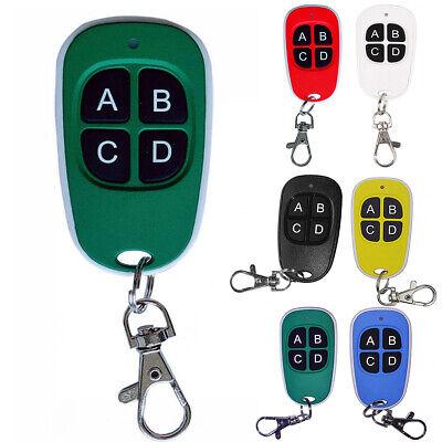 Universal Cloning Electric Gate Garage Door Remote Control Key Fob 433mhz Cloner Universal-garage Door Remote