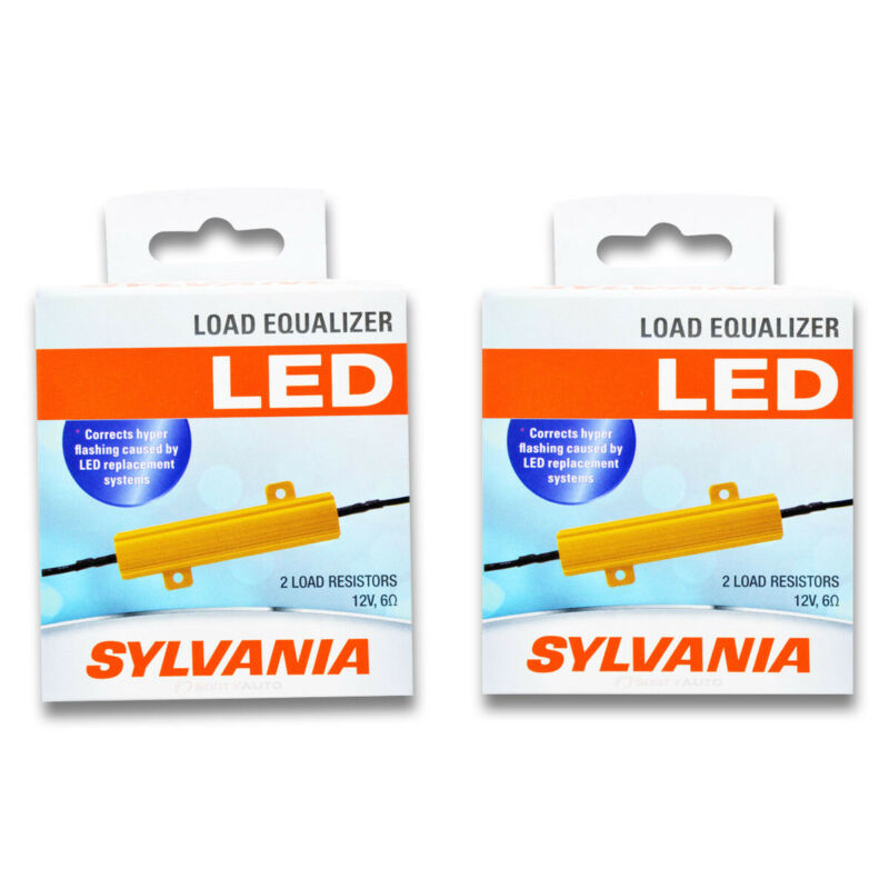 Sylvania SYLED - Two 2 Packs - LOADRSL LED Load Resistor Dome Glove Box rn