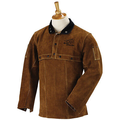 Revco 220cs Leather Welding Cowhide Cape Sleeves And 20 Bib Combo Size Large