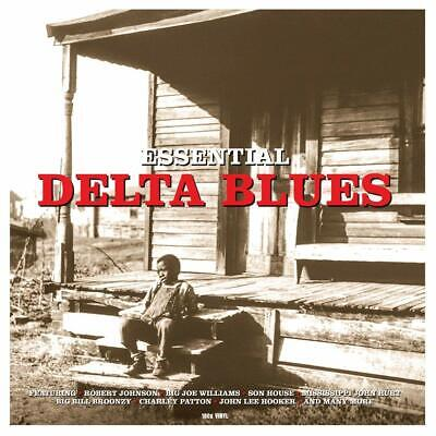 Essential Delta Blues VARIOUS ARTISTS (CATLP165) 180g BEST OF New Vinyl