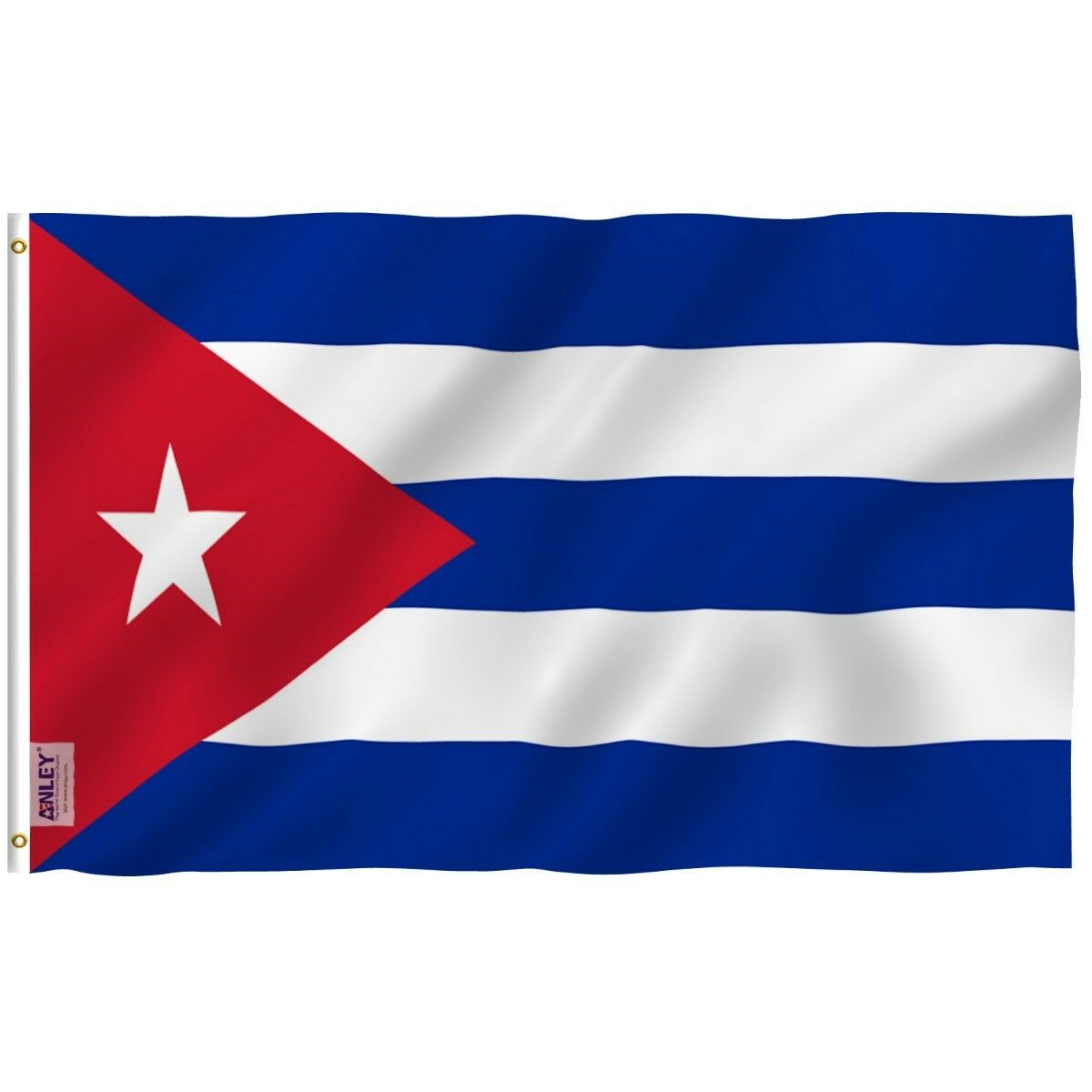 Anley Fly Breeze 3x5 Foot Cuba Flag Cuban National Flags Pol