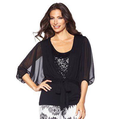 Glamour Sale (American Glamour Badgley Mischka Dolman Sleeve Cardigan 168806A SALE $30)