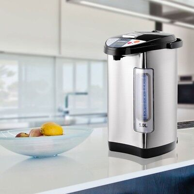 5-Liter LCD Water Boiler Warmer Electric Hot Water Stainless Steel Dispenser
