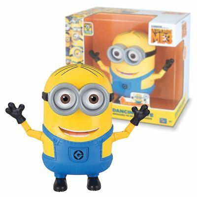 New Minions Dancing Dave Action Figure Talking Grooves To Music Official